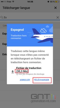 Google Traduction hors ligne (4)