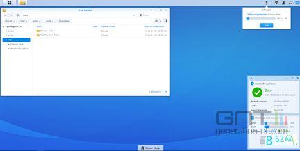 DSM 6.0 transfert fichiers