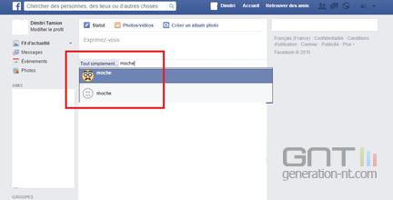 Facebook moche