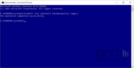 Windows 10 acces mode sans echec F8 -2