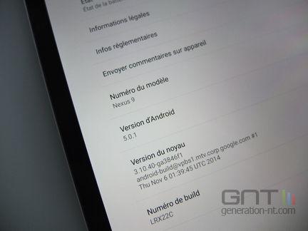 HTC Nexus 9 info