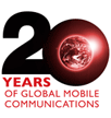 20 ans gsm logo