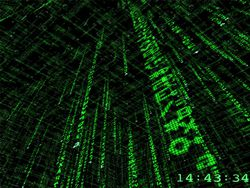 3D Matrix Screensaver 2