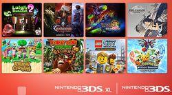 3DS - promotion jeux