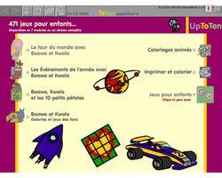 471 jeux, chansons et activités adaptés aux enfants screen1