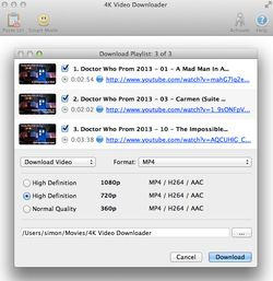 4K Video Downloader screen2