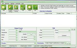 4Musics MP3 to MMF Converter screen 2