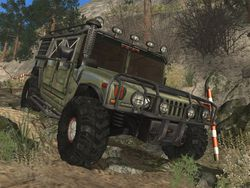 4x4 Hummer screen 1