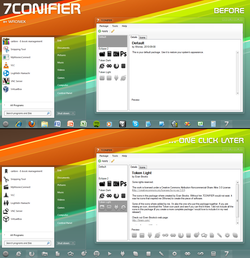7Conifier screen 1