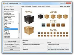 7Zip Theme Manager screen 2