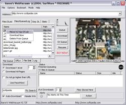 Aaron's WebVacuum screen1
