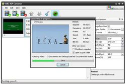 ABC 3GPMP4 Converter screen1