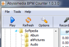 Abyssmedia BPM Counter : compter les BPM de vos musiques