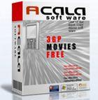 Acala 3GP Movies Free : éditer des vidéo de PC pour les visionner sur un mobile