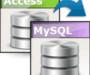 Access To MySQL : convertir une base Access en MySQL