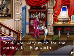 Ace Attorney Investigations : Miles Edgeworth - 8