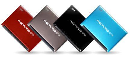 Acer Aspire One D255E couleurs