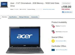 Acer C7 SSD
