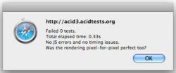 acid3 timing screenshot