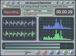 AD Sound Recorder screen 2