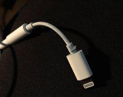 Adaptateur iPhone mini-jack