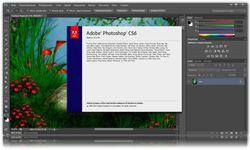Adobe Creative Suite Master Collection CS6 screen1
