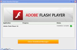 Adobe Flash Player screen1