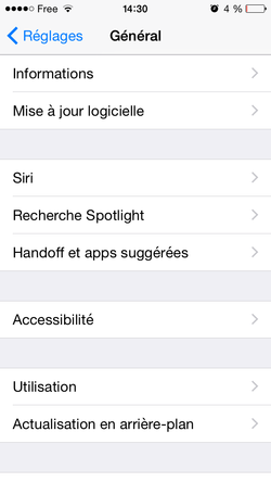 Adresse Mac iPhone iPad (2)