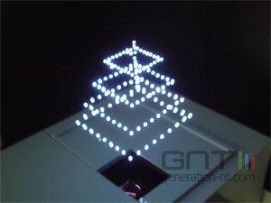 Aist laser infrarouge 3d