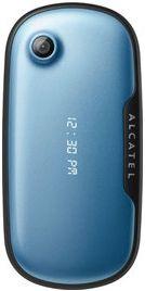 Alcatel OT-660 bleu fermé