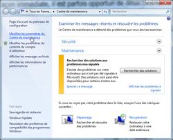 Alertes sécurité Windows 7 2