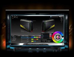 Alienware Aurora contrôle éclairage