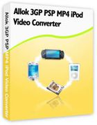 Allok 3GP PSP MP4 iPod Video Converter : un convertisseur de vidéos performant