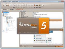 AllWebMenus Pro screen1