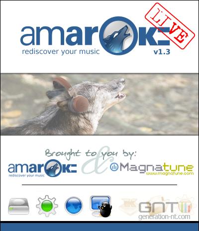 Amarok livecd