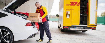 Amazon livraison coffre voiture