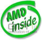 Amd inside logo