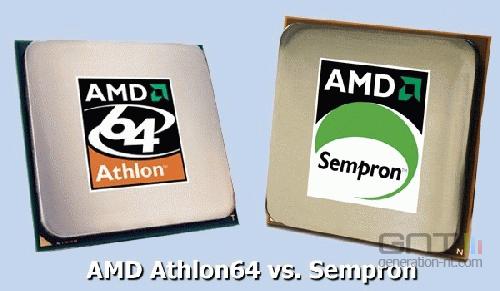 Amd sempron athlon 64 processeur