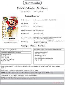 Amiibo Super Mario or