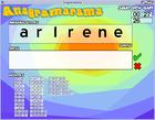 Anagramarama : jouer aux anagrammes avec ce jeu prenant