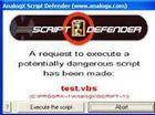 AnalogX Script Defender : vacciner son ordinateur contre les scripts malveillants