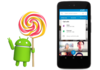 Android Lollipop progresse lentement