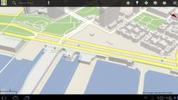 Android Honeycomb Maps