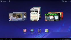 Android Honeycomb widget 02