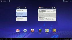Android Honeycomb widget