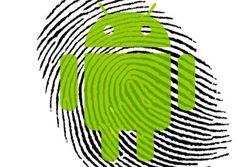 Android lecteur empreintes