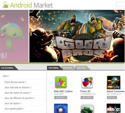 Android Market WebStore