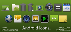 Android Style Icons R1 screen2