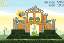 Angry Birds screen2