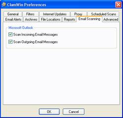antivirus gratuits Clamwin2